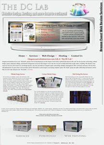 custom website designs for the oregon coast