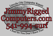 Lincoln City computer repair services.